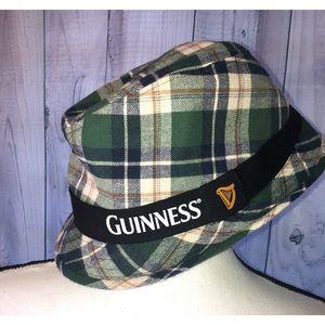 Guinness Plaid Fedora Hat St. Patrick's Day ☘️